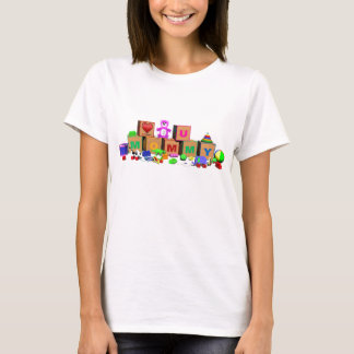 Colourful unique design for Mommy on Mothers Day T-Shirt