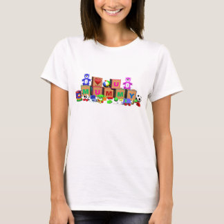 Colourful unique design for Mummy on Mothers Day T-Shirt