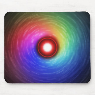 Colourful Universal Galaxy Look Rainbow Mouse Pad