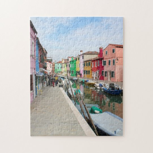 Colourful Venice Jigsaw Jigsaw Puzzle