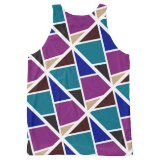 Colourful vest