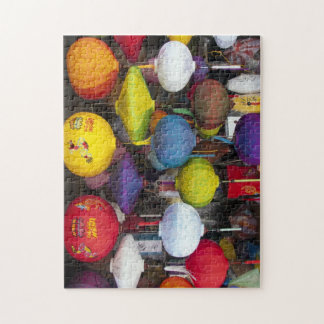 Colourful Vietnamese lanterns Jigsaw Puzzle