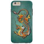 Colourful Vintage Fantasy Fire Dragon Tattoo Tough iPhone 6 Plus Case