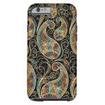 Colourful Vintage Ornate Paisley Design Tough iPhone 6 Case