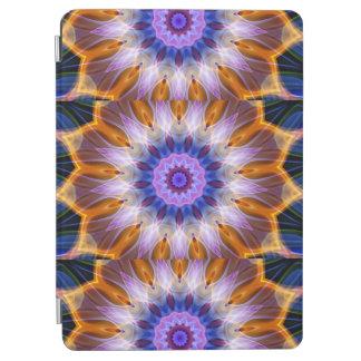 Colourful waves iPad air cover