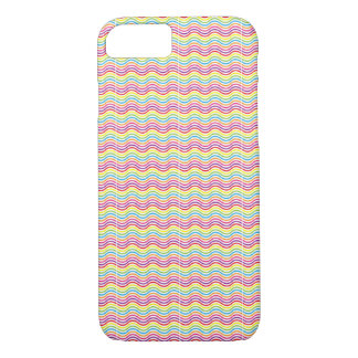 Colourful Waves iPhone 7 Case / Skin / Cover