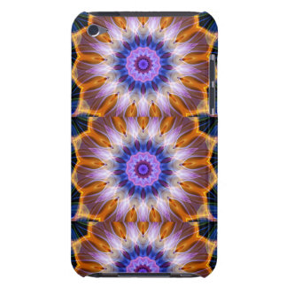 Colourful waves iPod touch case