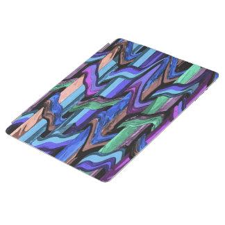 Colourful Wavy Weave iPad Smart Cover iPad Cover