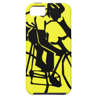 Colourful Yellow Bike Bicycle iPhone 5 Cases