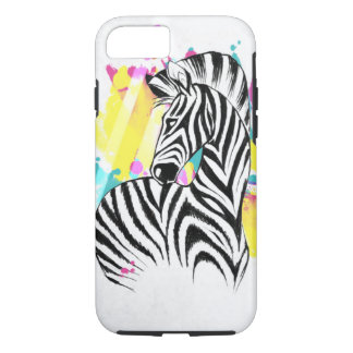 Colourful Zebra iphone Case