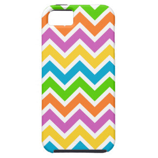 Colourful Zigzag pattern iPhone 5 Cases