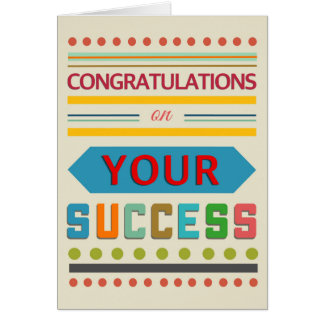 Colourgraphy Congratulations Card