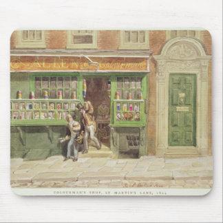 Colourman's Shop, St Martin's Lane, 1829 Mouse Pad
