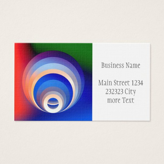 Colours and Emotions 2 Business Card