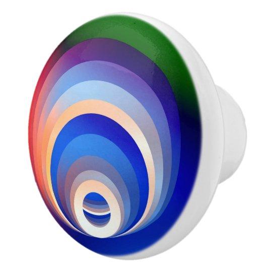 Colours and Emotions 2 Ceramic Knob