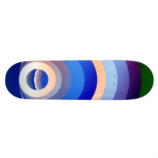 Colours and Emotions 2 Custom Skate Board