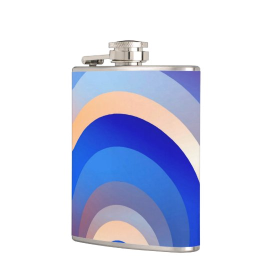 Colours and Emotions 2 Hip Flask