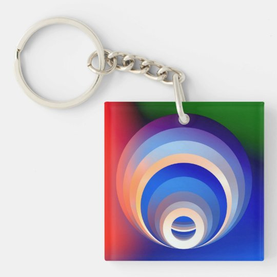 Colours and Emotions 2 Key Ring