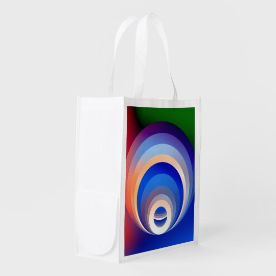 Colours and Emotions 2 Reusable Grocery Bag