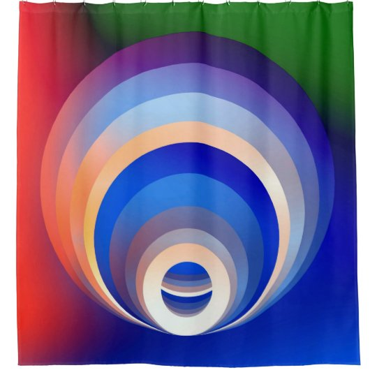 Colours and Emotions 2 Shower Curtain