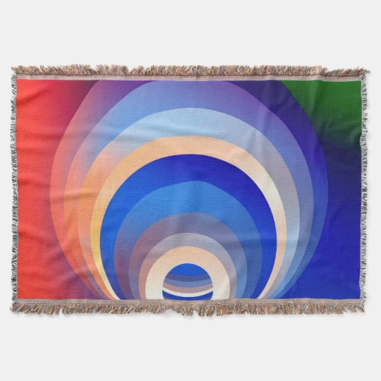 Colours and Emotions 2 Throw Blanket