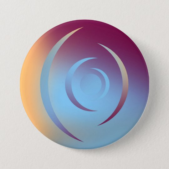 Colours and Emotions 3 7.5 Cm Round Badge