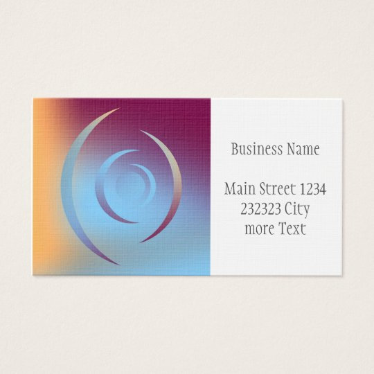 Colours and Emotions 3 Business Card