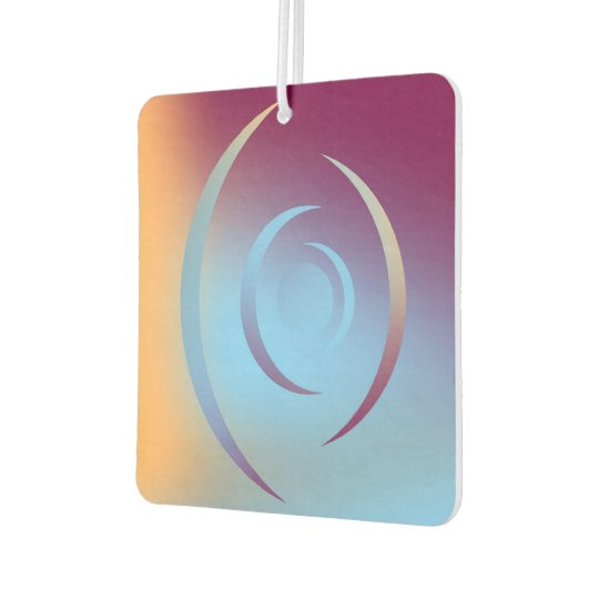 Colours and Emotions 3 Car Air Freshener