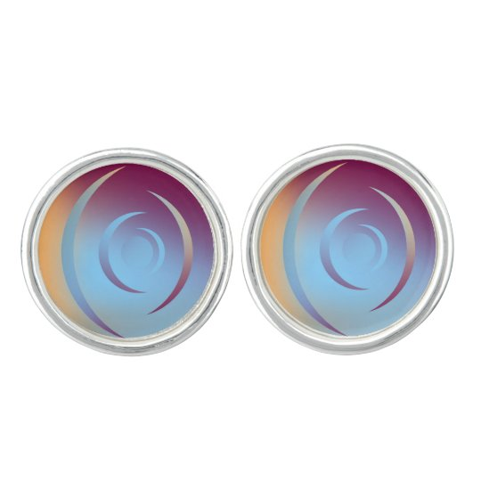 Colours and Emotions 3 Cufflinks