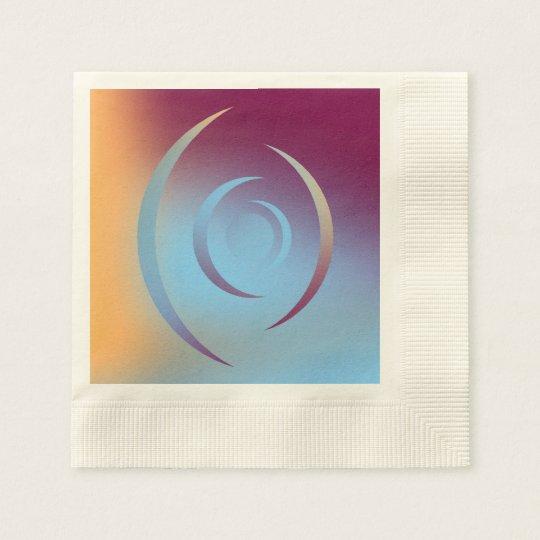 Colours and Emotions 3 Disposable Serviette