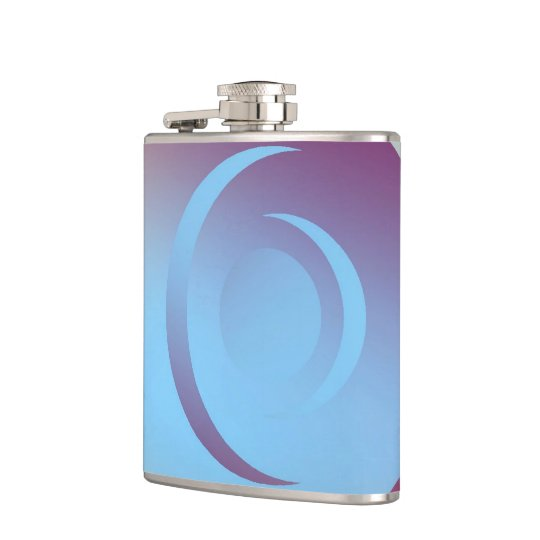 Colours and Emotions 3 Hip Flask