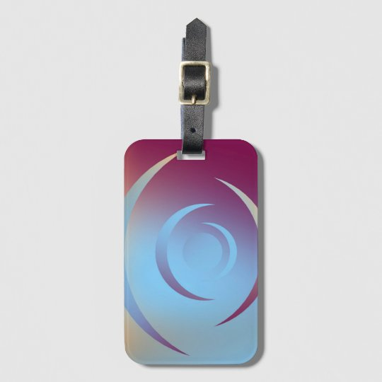 Colours and Emotions 3 Luggage Tag