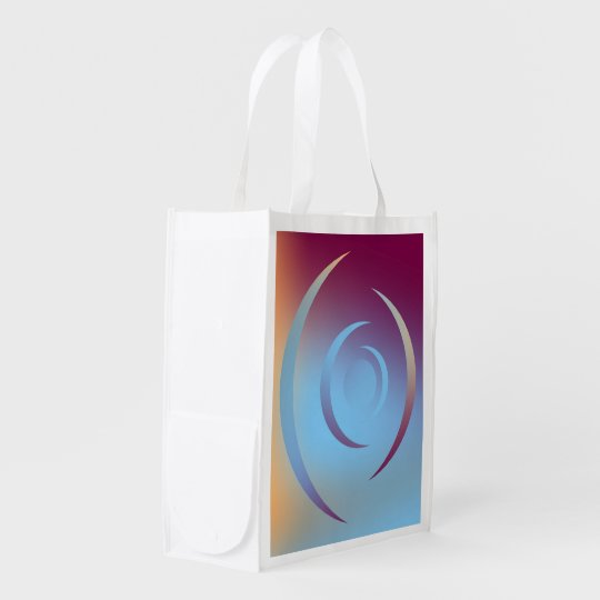 Colours and Emotions 3 Reusable Grocery Bag