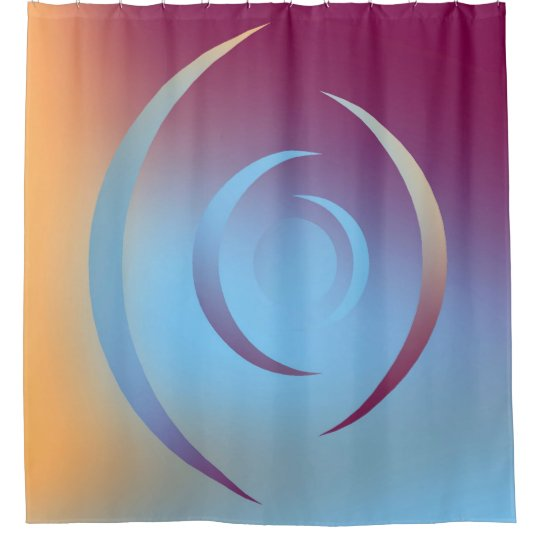 Colours and Emotions 3 Shower Curtain