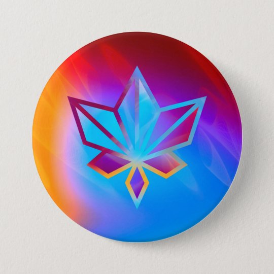 Colours and Emotions 4 7.5 Cm Round Badge