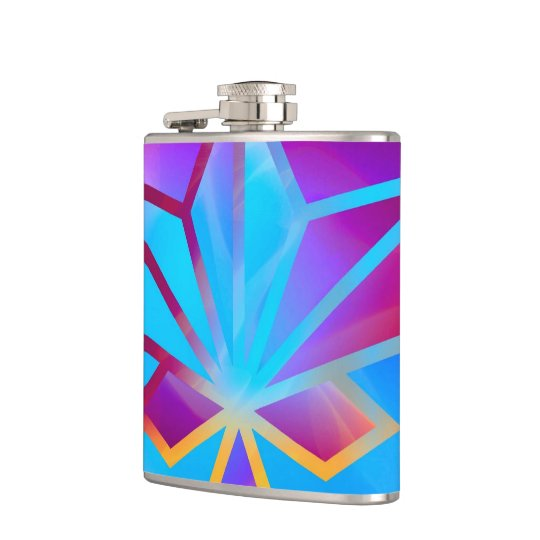 Colours and Emotions 4 Hip Flask