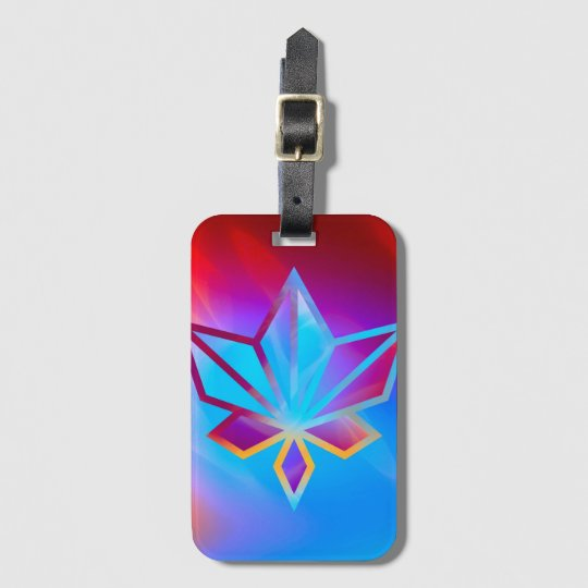 Colours and Emotions 4 Luggage Tag