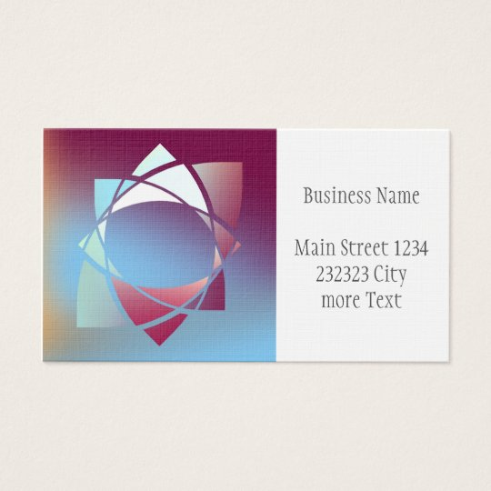 Colours and Emotions 5 Business Card
