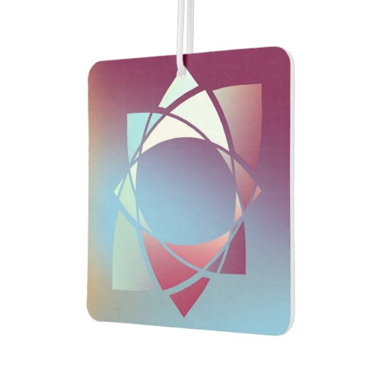 Colours and Emotions 5 Car Air Freshener