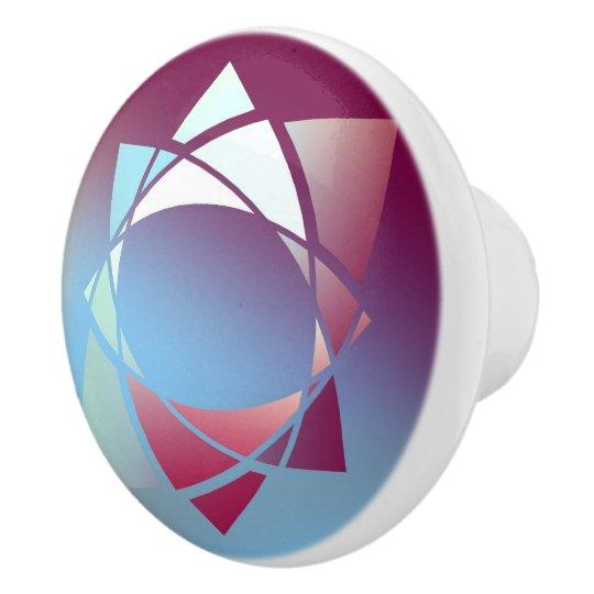 Colours and Emotions 5 Ceramic Knob