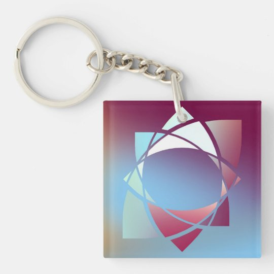 Colours and Emotions 5 Key Ring
