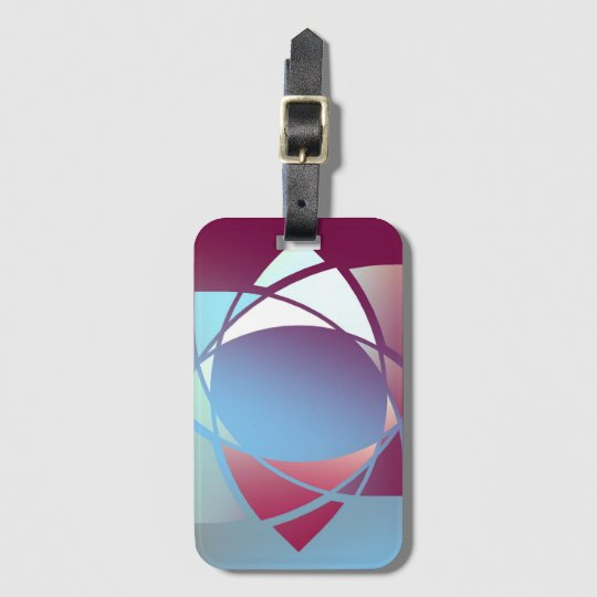 Colours and Emotions 5 Luggage Tag