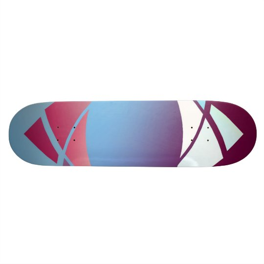Colours and Emotions 5 Skateboard