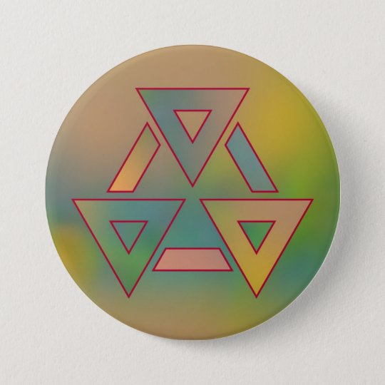 Colours and Emotions 6 7.5 Cm Round Badge