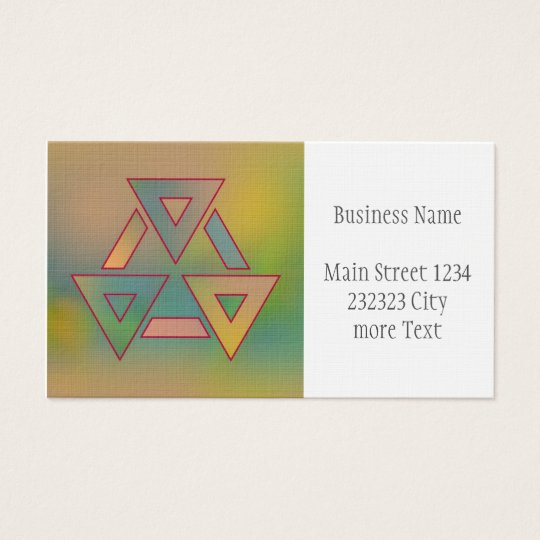 Colours and Emotions 6 Business Card
