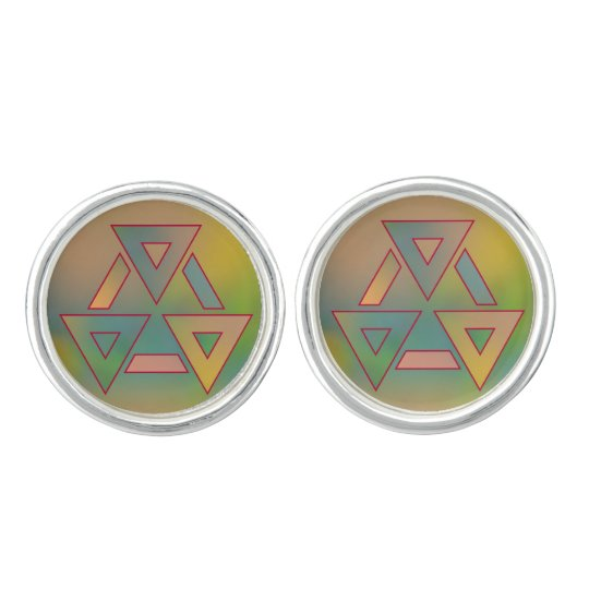 Colours and Emotions 6 Cufflinks