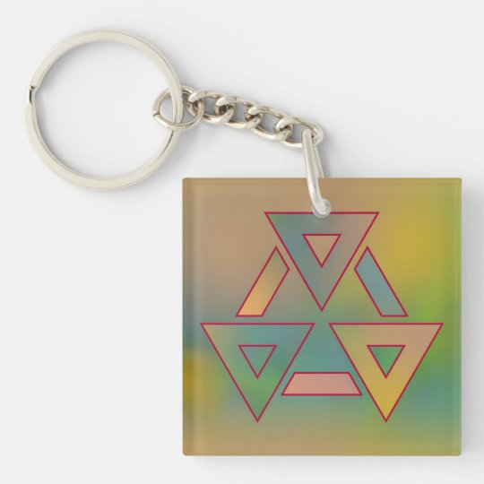 Colours and Emotions 6 Key Ring