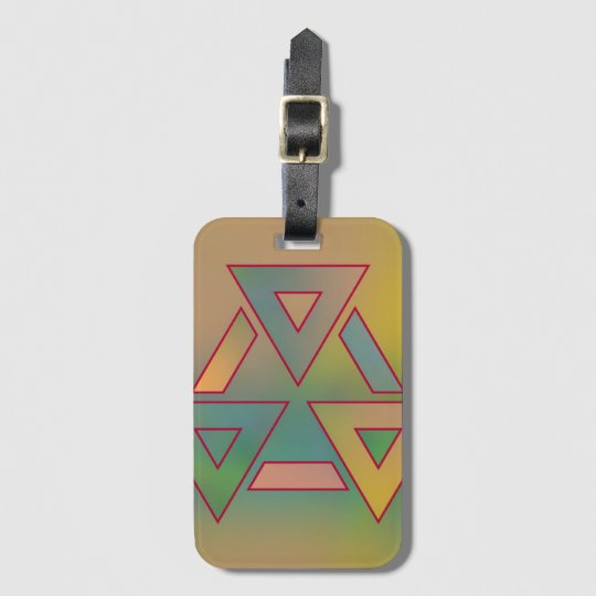 Colours and Emotions 6 Luggage Tag