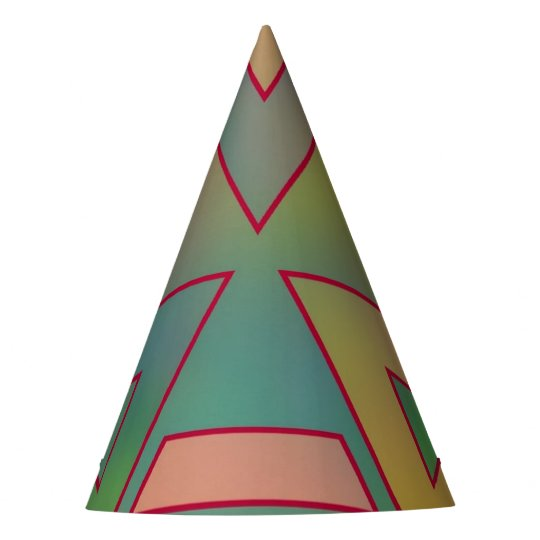 Colours and Emotions 6 Party Hat