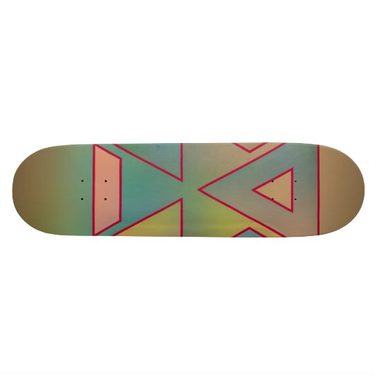 Colours and Emotions 6 Skateboard Deck